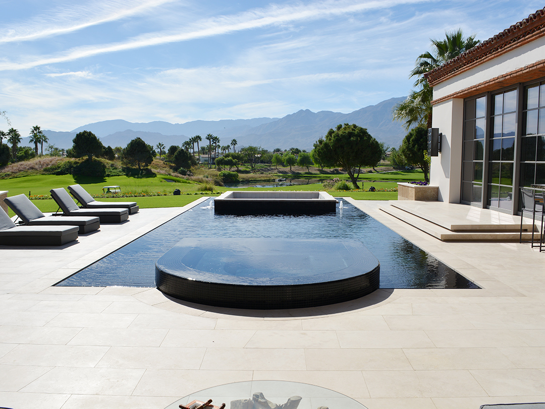 Pool Contractors In Palm Desert Custom Pools Pools